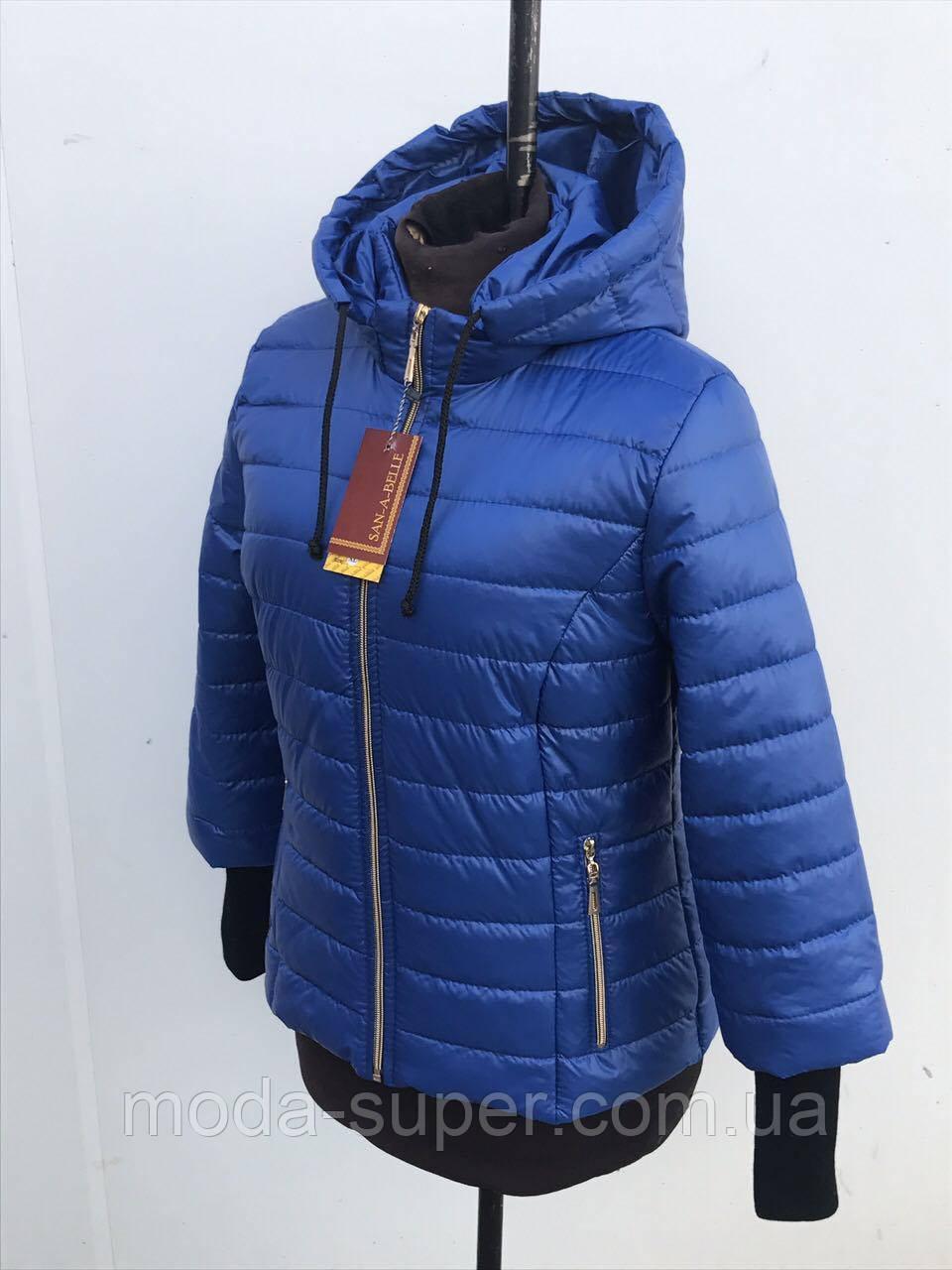 Куртка женская весенняя модель размеры 44 - 54