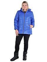 Женская куртка стеганная размеры от 54 до 70, фото 3