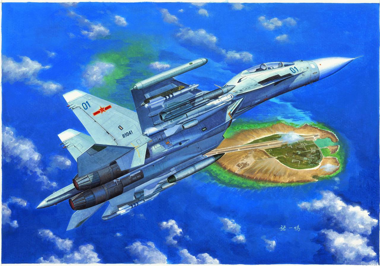 Су-30МКК. Сборная модель истребителя. 1/72 TRUMPETER 01659