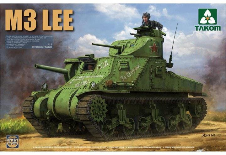 US Medium Tank M3 Lee. 1/35 TAKOM 2085
