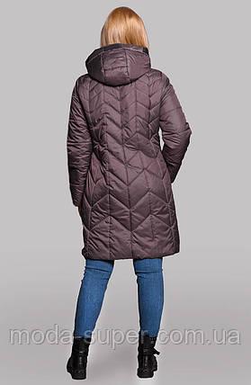 Куртка женская Весна-Осень удлиненная рр 50-60, фото 2