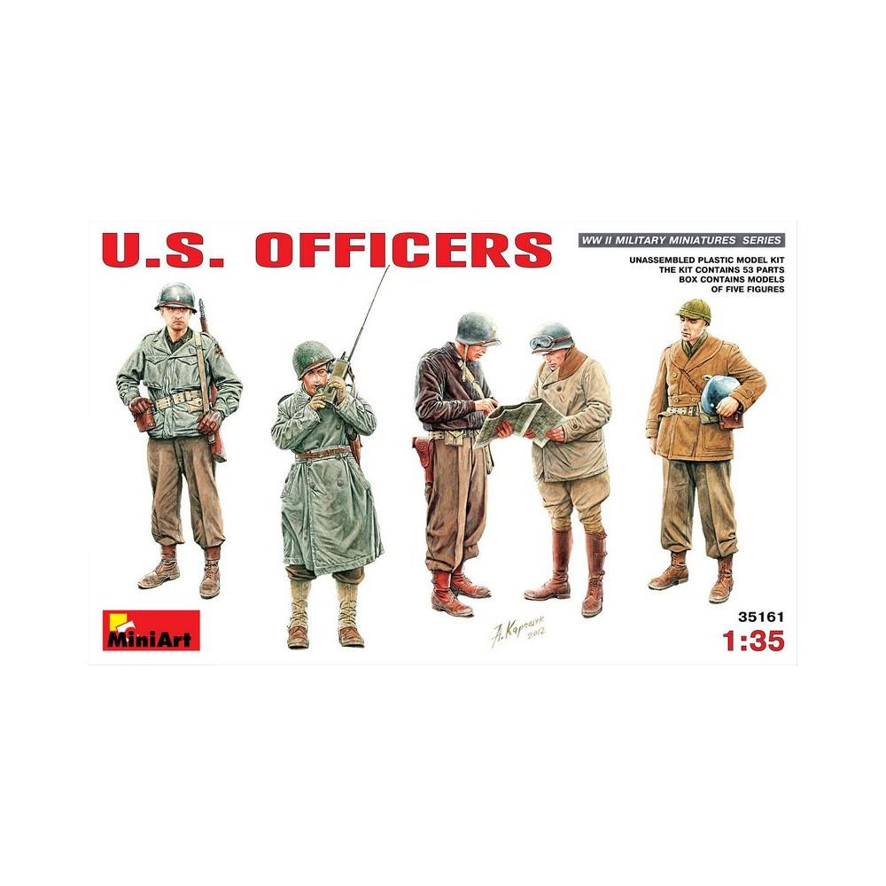 АМЕРИКАНСКИЕ ОФИЦЕРЫ WWII. 1/35 MINIART 35161