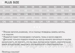 Женский спортивный костюм большие размеры рр 50-62, фото 2