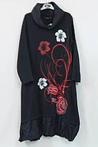 Очень красивое платье в цветах с бусинами  Pompadur  Турция рр 52-58, фото 3