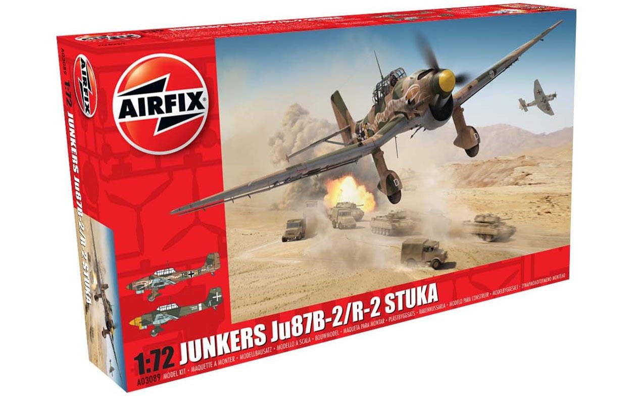 JUNKERS JU87B-2/R-2 STUKA.1/72 AIRFIX 03089
