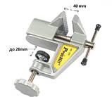 Мини-тиски со струбцинним креплением к столу. PROSKIT PD-374, фото 2