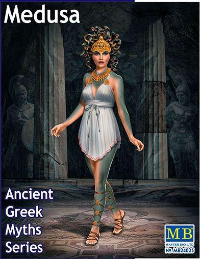 Горгона Медуза. Серія міфів стародавня Греція. 1/24 MASTER BOX 24025