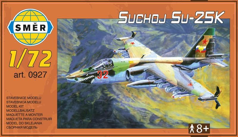Сборная модель самолета СУ-25К. 1/72 SMER 0927