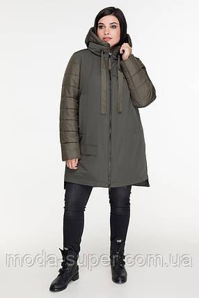 Женская зимняя куртка-пуховик  рр 50-56, фото 2