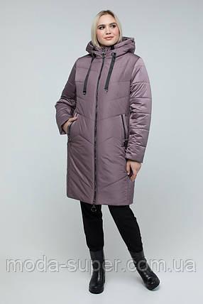 Куртка с двойным слоем утеплителя рр 50-60, фото 2