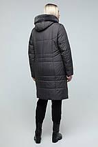 Куртка женская зимняя с эко-мехом мутона  рр 50-60, фото 3