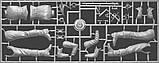Французский гвардеец XVII век. Сборная пластиковая фигурка в масштабе 1/16. MINIART 16011, фото 4