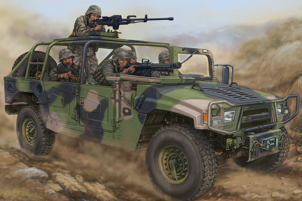 Dong Feng Meng Shi 1.5 ton Military Light Utility Vehicle. 1/35 HOBBY BOSS 82469