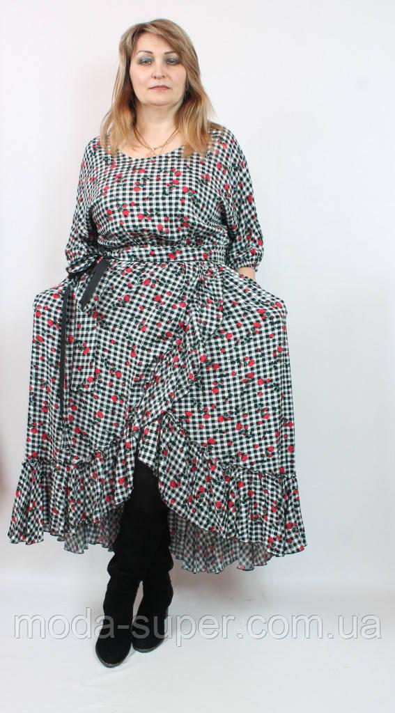 Оригінальне плаття з віскози Darkwin (Туреччина),рр 52-62
