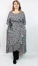 Оригинальное платье из вискозы Darkwin (Турция),рр 52-62, фото 2