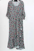 Оригинальное платье из вискозы Darkwin (Турция),рр 52-62, фото 3
