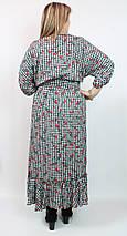 Оригінальне плаття з віскози Darkwin (Туреччина),рр 52-62, фото 3