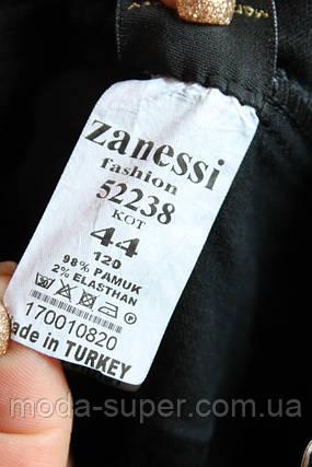 Джинсы женские со стразами под ремень  Zanessi  Турция рр 48-52, фото 2