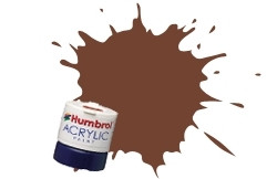 Ржавчина матовая. Водорастворимая акриловая краска для сборных моделей, 14 мл. HUMBROL 113