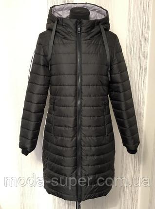 Женская удлиненная курта деми  рр 46-54, фото 2