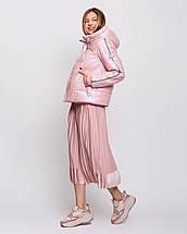 Женская куртка короткая с ломпасами  рр 42-54, фото 2