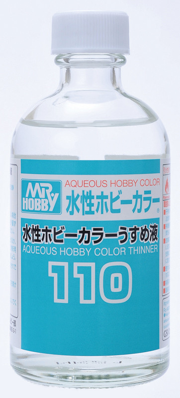 Растворитель дл акриловой водорастворимой краски 110 мл. MR.HOBBY T110