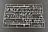 РСЗО 9П138 Град-1 на шасси ЗИЛ-131. Сборная модель в масштабе 1/35. TRUMPETER 01032, фото 10