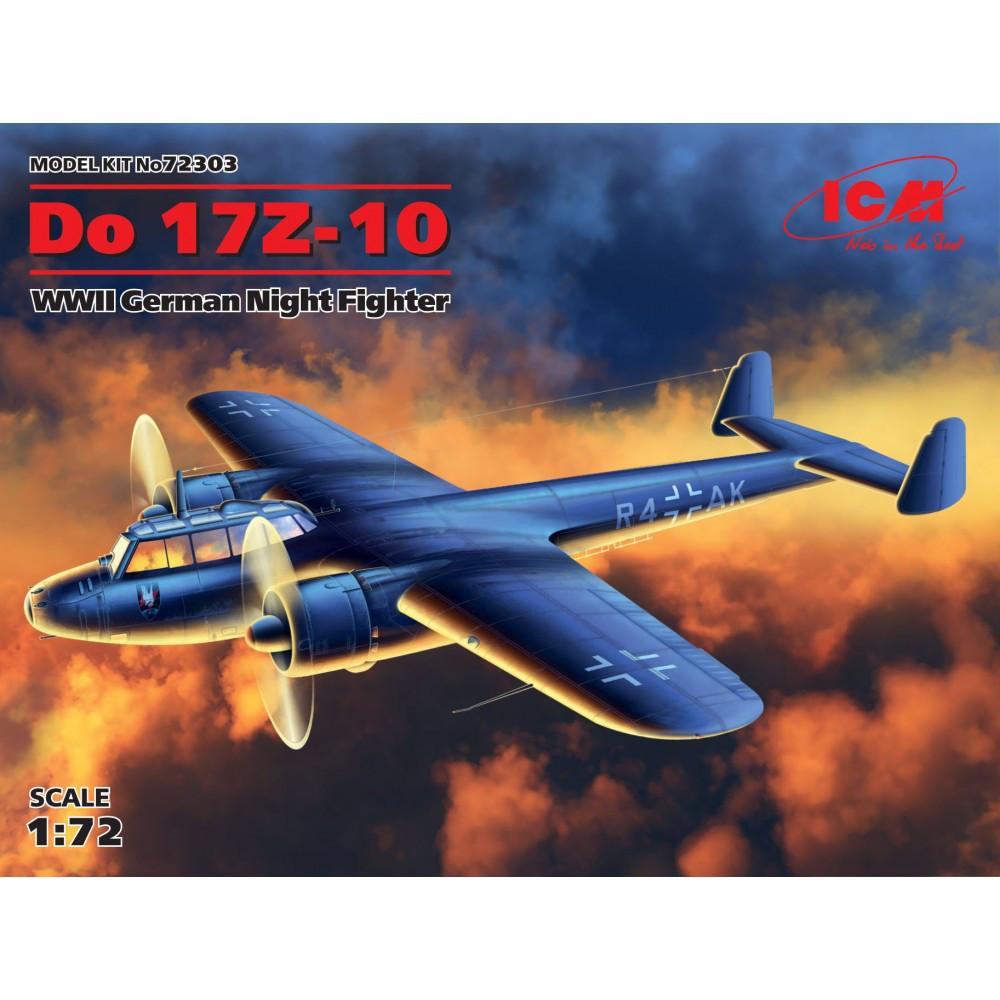 Do 17Z-10, Германский ночной истребитель ІІ МВ. 1/72 ICM 72303