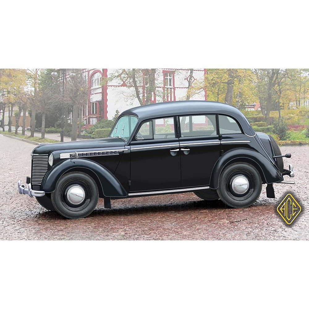 1938 OLYMPIA 4 DOOR SALOON. 1/72 ACE 72518