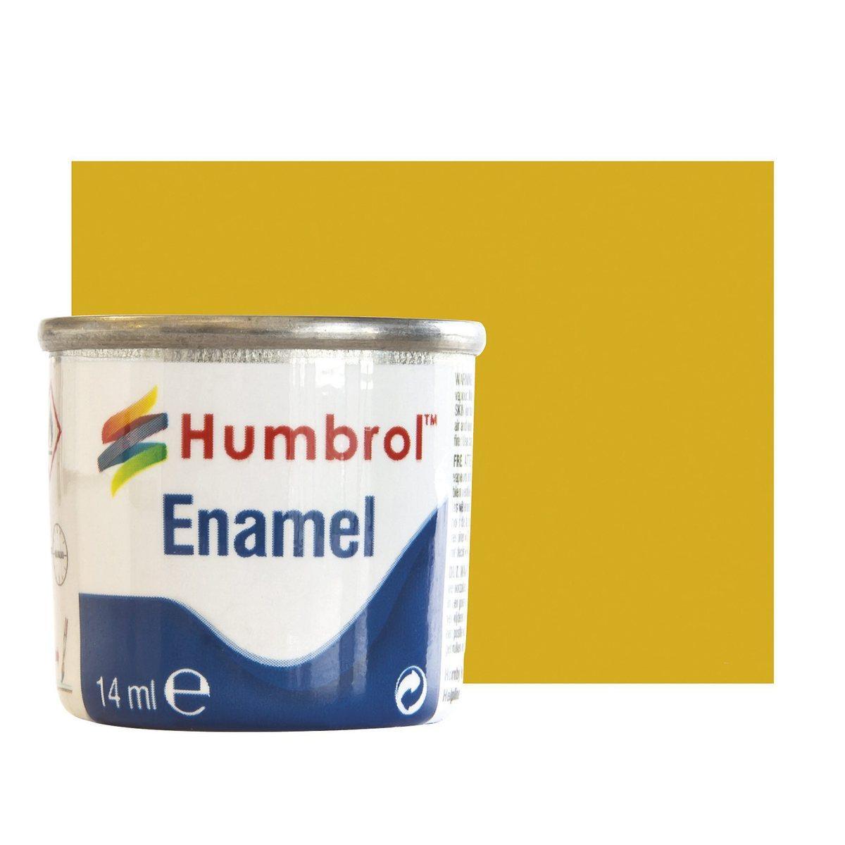 Золото металлик. Алкидная эмаль для сборных моделей. HUMBROL 016