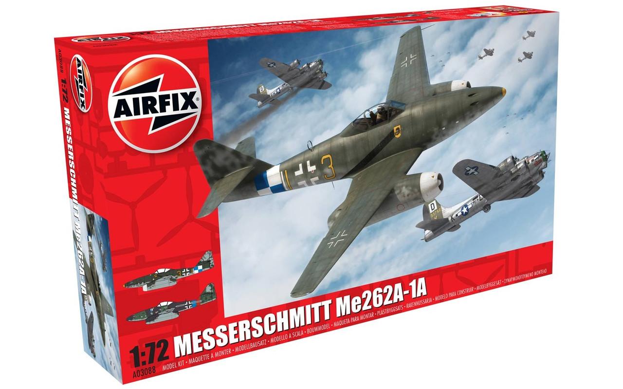 Messerschmitt Me262A-1A Schwalbe. 1/72 AIRFIX 04062