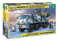 Панцирь-С1. Российский самоходный зенитный ракетно-пушечный комплекс. 1/35 ZVEZDA 3698