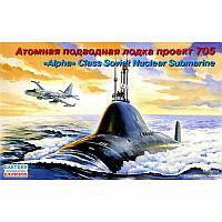 """Сборная модель подводной лодки ПРОЕКТ 877 (""""КИЛО"""") 1/400 EASTERN EXPRESS 40006"""