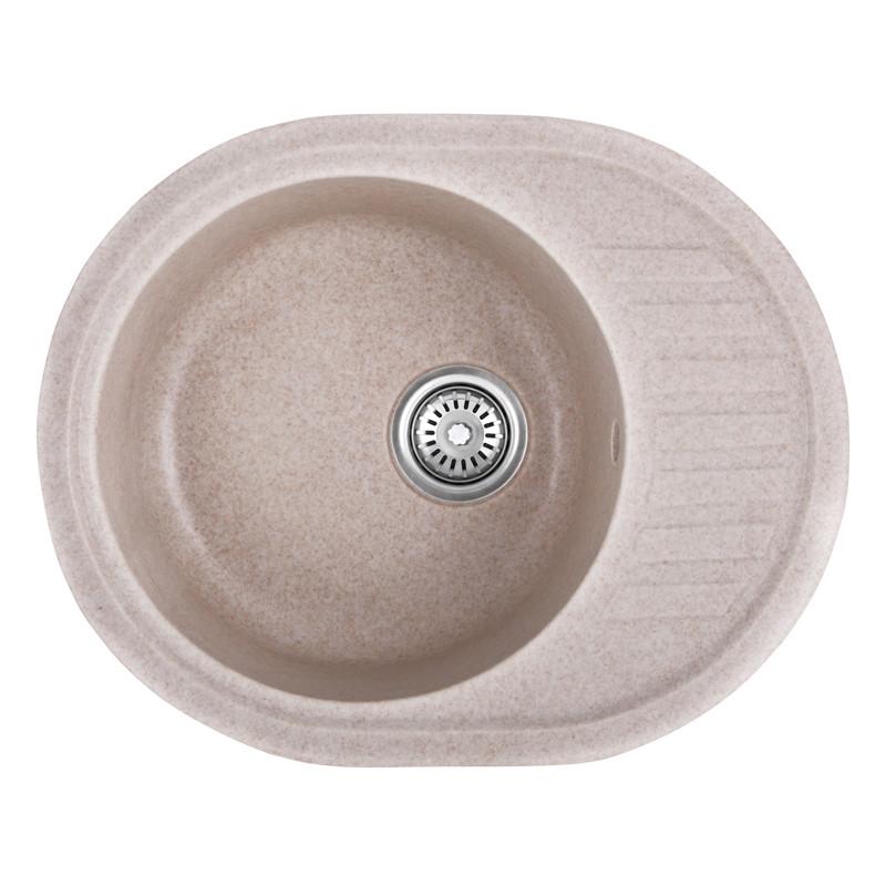 Мойка кухонная HAIBA HB8311-G319 SAND 570x450x180 (HB0981)