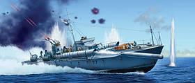 """VOSPER 72""""6' MTB 77. Сборная модель торпедного катера в масштабе 1/35. ITALERI 5610"""