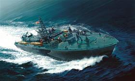 Торпедный катер ELCO 80 'PT - 596 TORPEDO BOAT. Сборная модель. 1/35 ITALERI 5602