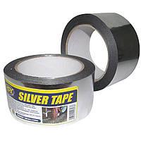 Металлизированная клейкая лента /скотч хром/ Silver Tape 50 мм x 25 м. HPX ST5025