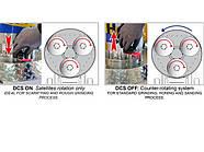 HERCULES 450 - Шлифовальная машина для бетона и мрамора с системой DCS., фото 3