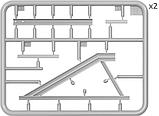 Железнодорожный тупик (европейская колея). 1/35 MINIART 35568, фото 2