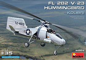 Fl 282 V-23 ВЕРТОЛЕТ HUMMINGBIRD (КОЛИБРИ). 1/35 MINIART 41004