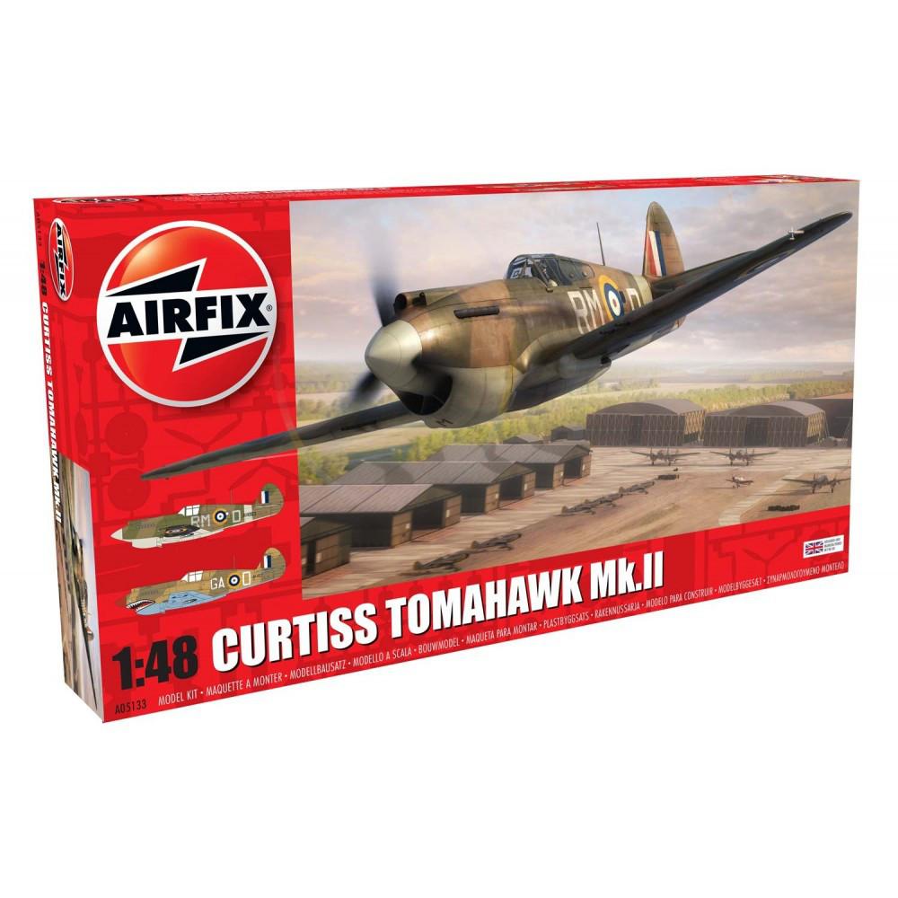 Curtiss Tomahawk MK.II. 1/48 AIRFIX 05133