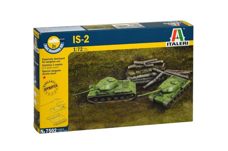 Советский танк ИС-2. 1/72 ITALERI 7502
