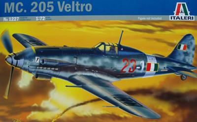 MC. 205 VELTRO.1/72 ITALERI 1227