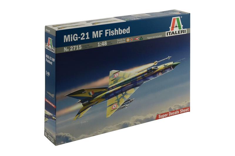 Сборная модель самолета МИГ-21 МФ. 1/48 ITALERI 2715