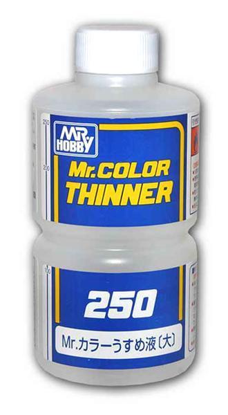 Разбавитель MR. COLOR THINNER 250 мл. MR. COLOR T103