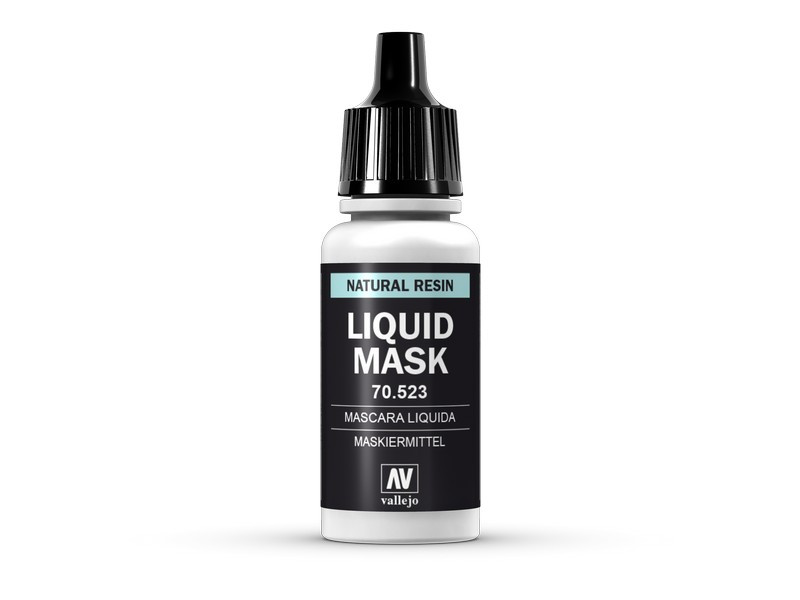 Жидкая маска (резина) для моделирования 17 мл. VALLEJO 70523