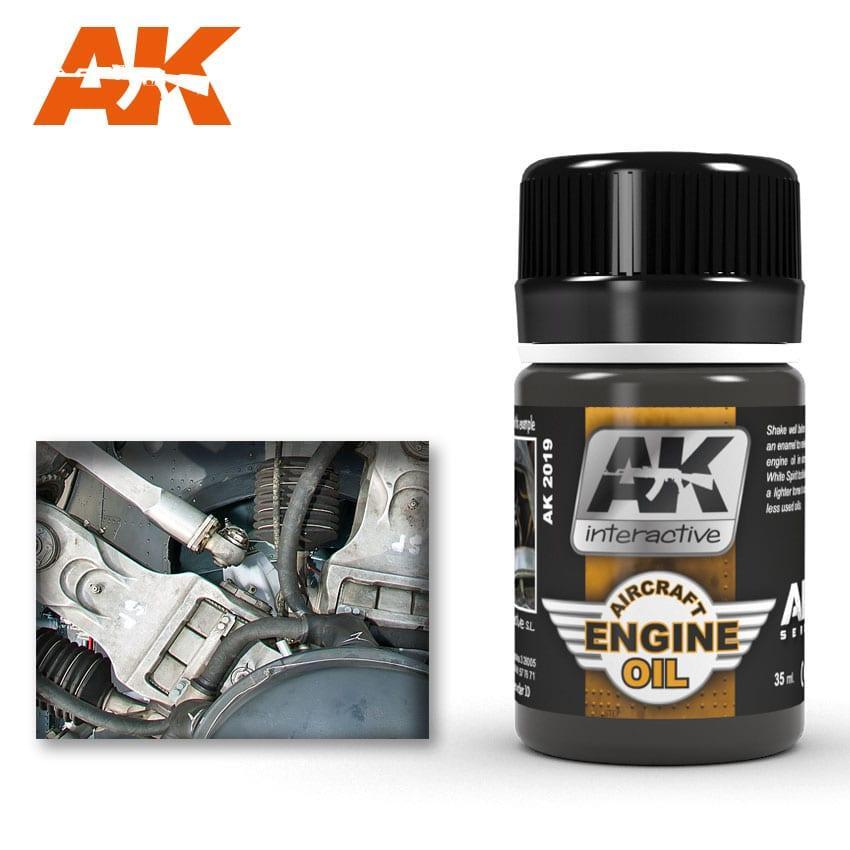 Жидкость для имитации пятен авиационного масла 35 мл. AK-INTERACTIVE AK-2019
