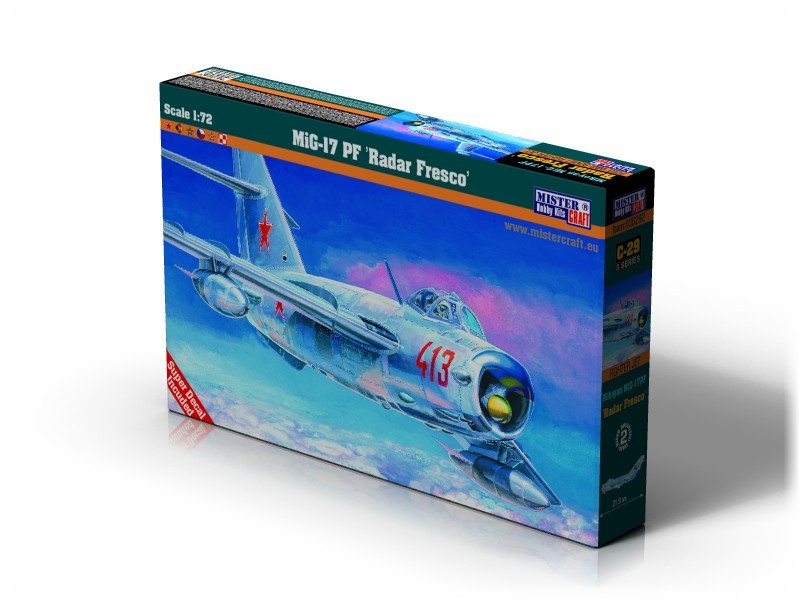 МиГ-17 ПФ FRESCO. 1/72 MISTER CRAFT C-29