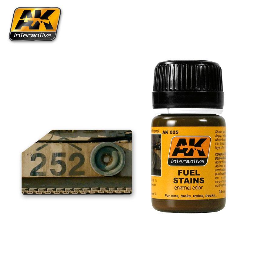 Жидкость для имитации Потеки топлива 35 мл. AK-INTERACTIVE AK-025