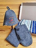 Набір в сауну + махровий кілт-рушник (на вибір), фото 1